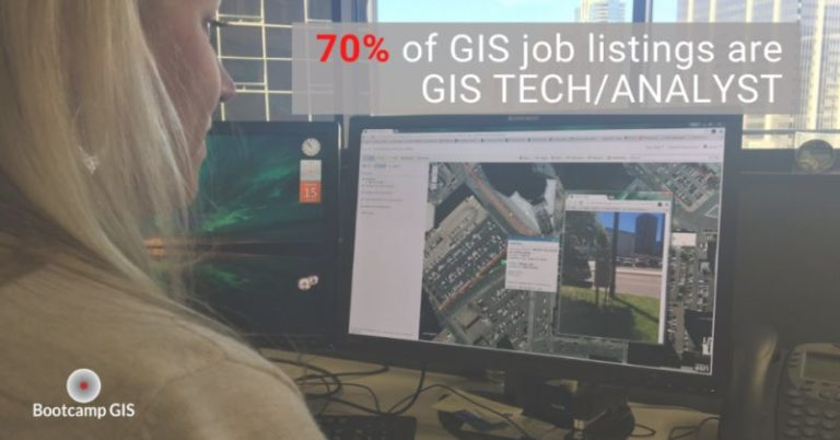 Entry level GIS jobs are the seed to a career
